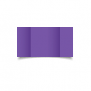 Large Square Gatefold Dark Violet Card Blanks