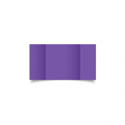 Dark Violet Small Square Gate Fold Card Blank 01