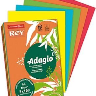 A4 (210x297mm) Rey Adagio Deep Colour Mix 80gsm | 250 Sheets