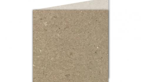 Small Square Fleck Kraft Card Blanks