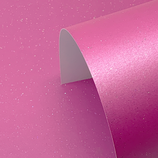 Fuchsia Pink Pure Sparkle Card Blanks One Sided 300gsm