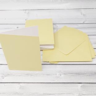 Grape Green C6 Card Blanks & Envelopes - Pack of 10