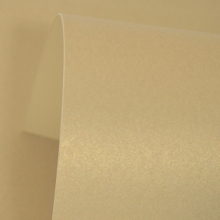 Harvest Gold Pure Pearl Card Blanks Double Sided 300gsm