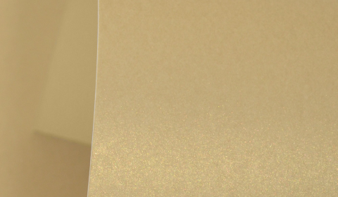Harvest Gold Pure Pearl Card Blanks One Sided 300gsm