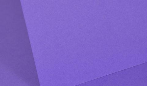 Intensive Lilac Plain Card 160gsm