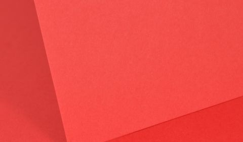 Intensive Red Plain Card 210gsm