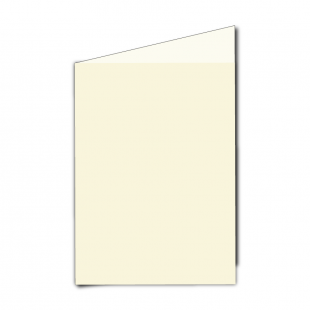 "5"" x 7"" Ivory Hemp Card Blanks"