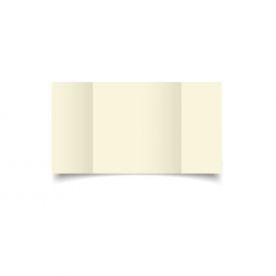 Ivory Large Square Gate Fold Card Blank 01