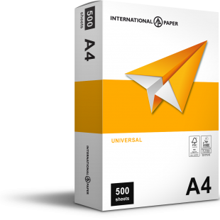 A4 (210x297mm) IP Universal Paper 75gsm | 500 Sheets