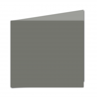 Large Square Card Blank Antracite 01
