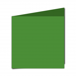 Large Square Apple Green Card Blanks