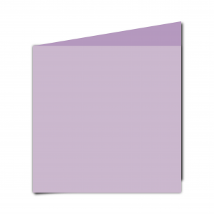 Large Square Lilac Card Blanks