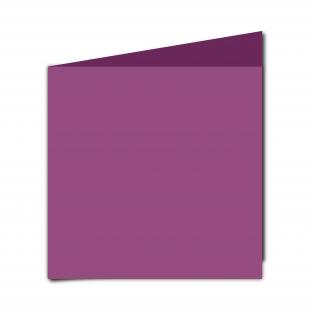 Large Square Purple Grape Card Blanks