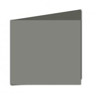 Large Square Slate Grey Card Blanks