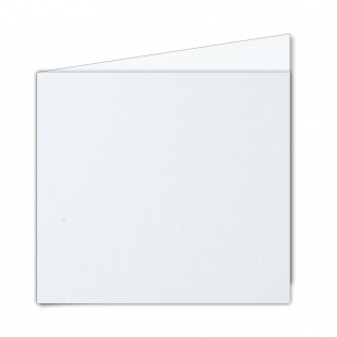 Large Square Ultra White Pearlised Card Blanks