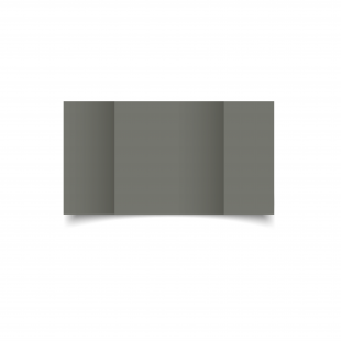 Large Square Gatefold Antracite Sirio Colour Card Blanks