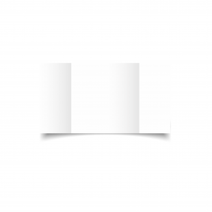 Large Square Gatefold White Plain Card Blanks