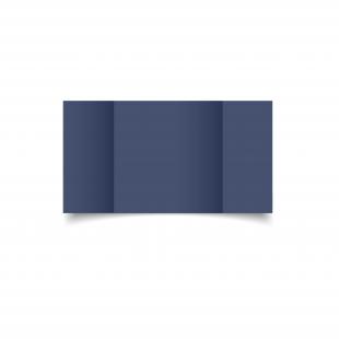 Large Square Gatefold Blu Sirio Colour Card Blanks