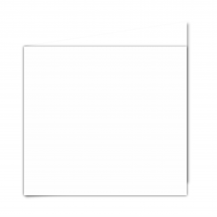 Large Square White Plain Card Blanks