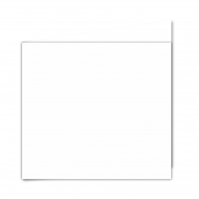 Large Square White Plain 01