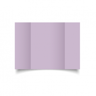A5 Gatefold Lilac Card Blanks