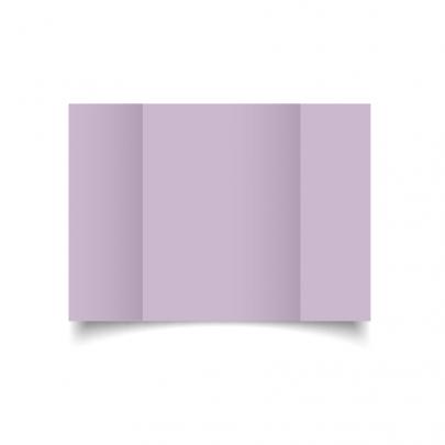Lilac A5 Gate Fold Card Blank 01