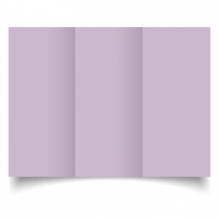 DL Trifold Lilac Card Blanks