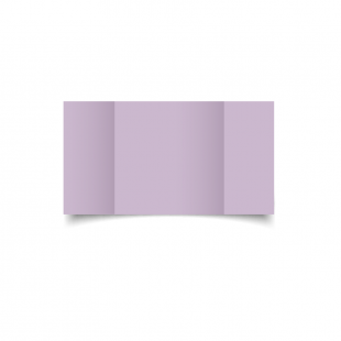 Large Square Gatefold Lilac Card Blanks