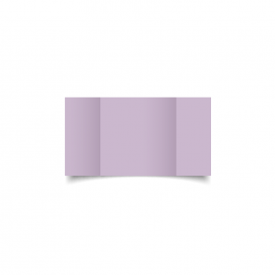 Small Square Gatefold Lilac Card Blanks
