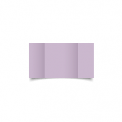 Lilac Small Square Gate Fold Card Blank 01