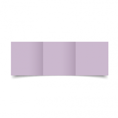 Lilac Small Square Tri Fold Card Blank 01