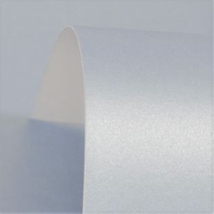 Powder Blue Pure Pearl Card Blanks Double Sided 300gsm