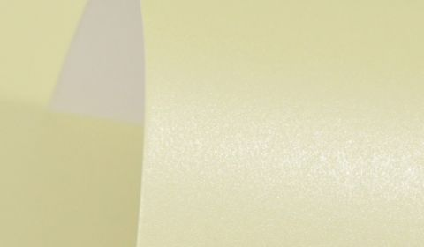 Frosty Lime (Amarillo) Pearlised Paper 100gsm