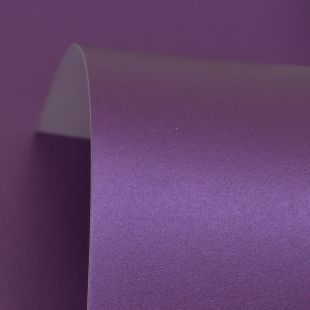 Royal Purple Cosmos Pearl Card Blanks One Sided 300gsm