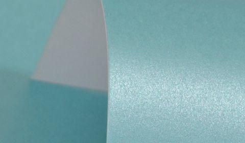 Sky Blue Pure Pearl Card Single Sided 300gsm