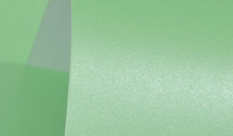 Sea Green Pure Pearl Card Blanks One Sided Pearlised 300gsm