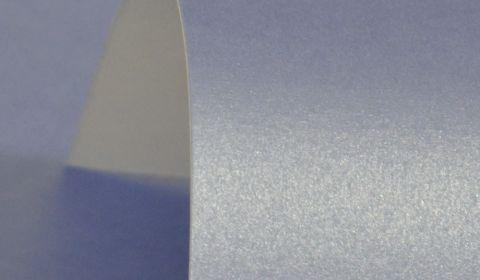 Maya Blue Pure Pearl Card Single Sided 300gsm