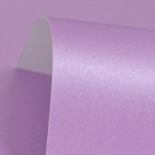 Periwinkle Purple Pure Pearl Card Blanks One Sided 300gsm