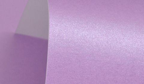 Periwinkle Purple Pearlised Card Single Sided 300gsm