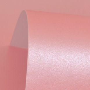 Persian Pink Pure Pearl Card Blanks One Sided 300gsm