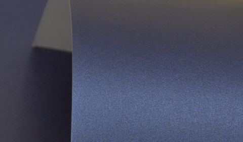 Royal Blue Pure Pearl Card Single Sided 300gsm