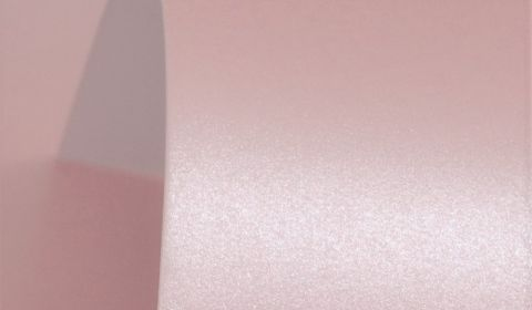 Dusky Pink Pure Pearl Card Blanks One Sided 300gsm