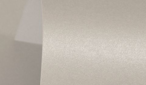 Mercury Silver Pure Pearl Card Blanks One Sided 300gsm