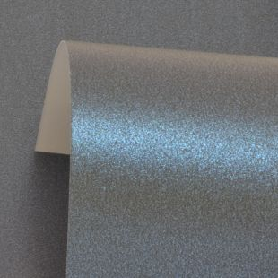 Dazzle Blue Pure Pearl Card Blanks One Sided 300gsm