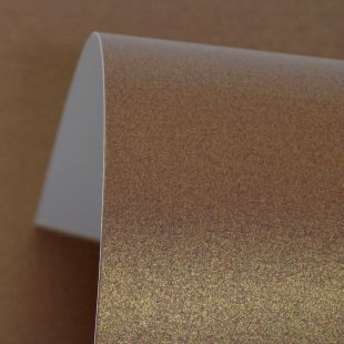 Chocolate Brown Pure Pearl Card Blanks One Sided 300gsm
