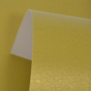 Khaki Green Cosmos Pearl Card Blanks One Sided 300gsm