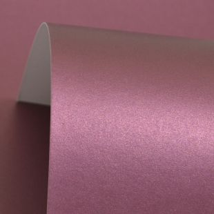Burgundy Cosmos Pearl Card Blanks One 300gsm