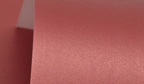 Royal Red Pure Pearl Card Blanks One Sided 300gsm