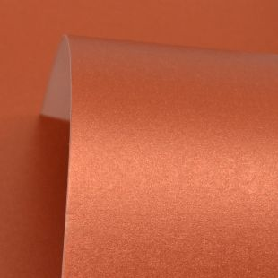 Copper Pure Pearl Card Blanks One Sided 300gsm