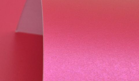 Royal Pink Pure Pearl Card Blanks One Sided Pearlised 300gsm
